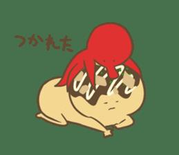 Spiritless Takoyaki sticker #682189