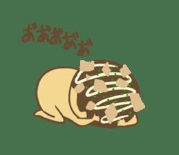 Spiritless Takoyaki sticker #682197