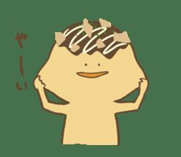 Spiritless Takoyaki sticker #682199