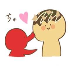 Spiritless Takoyaki sticker #682202