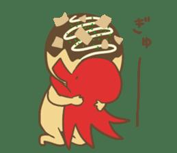 Spiritless Takoyaki sticker #682205