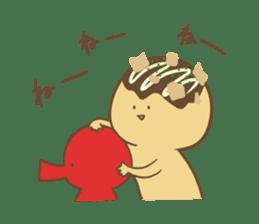 Spiritless Takoyaki sticker #682206