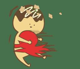 Spiritless Takoyaki sticker #682209