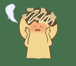 Spiritless Takoyaki sticker #682212