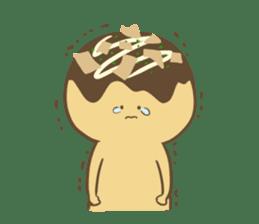 Spiritless Takoyaki sticker #682214