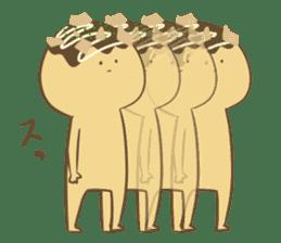 Spiritless Takoyaki sticker #682219