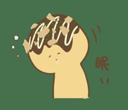 Spiritless Takoyaki sticker #682221