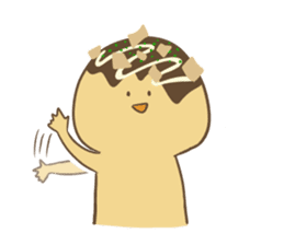 Spiritless Takoyaki sticker #682225