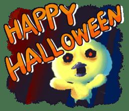 Halloween Hiyoko Sticker sticker #682306