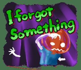 Halloween Hiyoko Sticker sticker #682319