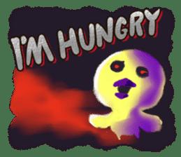 Halloween Hiyoko Sticker sticker #682321