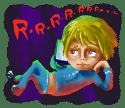 Halloween Hiyoko Sticker sticker #682322