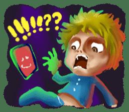 Halloween Hiyoko Sticker sticker #682323