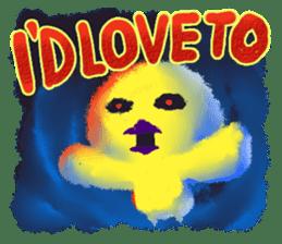 Halloween Hiyoko Sticker sticker #682328