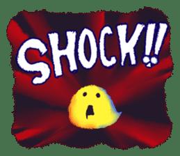 Halloween Hiyoko Sticker sticker #682343