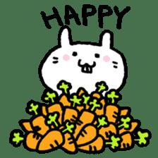 Smile rabbit sticker #685119