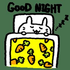 Smile rabbit sticker #685120