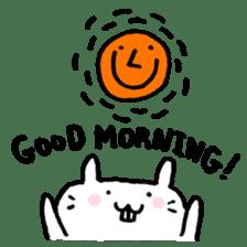 Smile rabbit sticker #685128