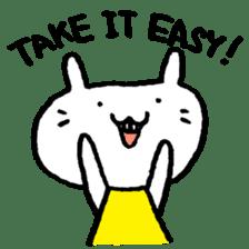 Smile rabbit sticker #685131