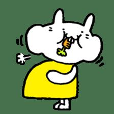 Smile rabbit sticker #685142