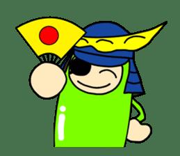 Samurai        Mame-Masamune sticker #685238