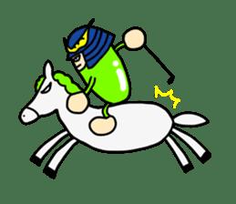 Samurai        Mame-Masamune sticker #685242