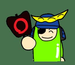 Samurai        Mame-Masamune sticker #685245