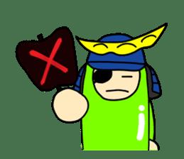 Samurai        Mame-Masamune sticker #685246