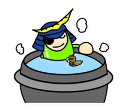 Samurai        Mame-Masamune sticker #685261