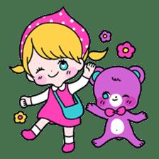 GIRL&BEAR  cheerful STICKER sticker #685266
