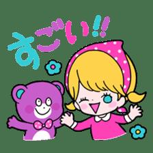 GIRL&BEAR  cheerful STICKER sticker #685267