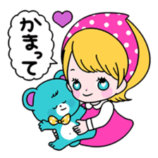 GIRL&BEAR  cheerful STICKER sticker #685269