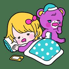 GIRL&BEAR  cheerful STICKER sticker #685270