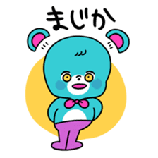 GIRL&BEAR  cheerful STICKER sticker #685271