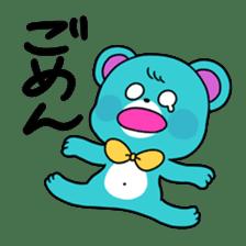 GIRL&BEAR  cheerful STICKER sticker #685276