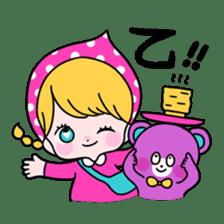 GIRL&BEAR  cheerful STICKER sticker #685281