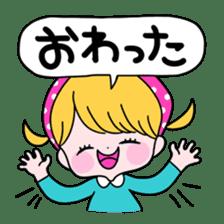 GIRL&BEAR  cheerful STICKER sticker #685282