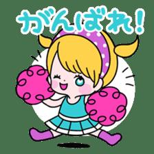 GIRL&BEAR  cheerful STICKER sticker #685284