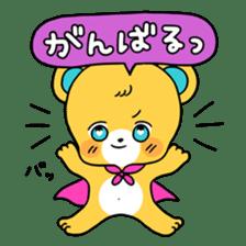 GIRL&BEAR  cheerful STICKER sticker #685285