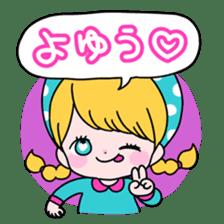 GIRL&BEAR  cheerful STICKER sticker #685287