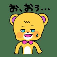 GIRL&BEAR  cheerful STICKER sticker #685288