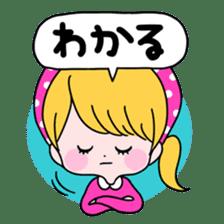 GIRL&BEAR  cheerful STICKER sticker #685289
