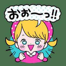 GIRL&BEAR  cheerful STICKER sticker #685290