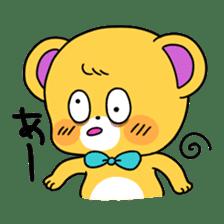 GIRL&BEAR  cheerful STICKER sticker #685294