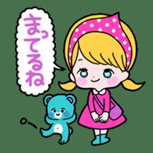 GIRL&BEAR  cheerful STICKER sticker #685298