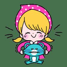 GIRL&BEAR  cheerful STICKER sticker #685303