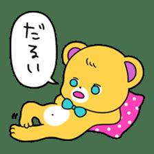 GIRL&BEAR  cheerful STICKER sticker #685304