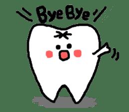 Mr.Tooth! sticker #686075