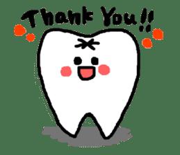 Mr.Tooth! sticker #686078