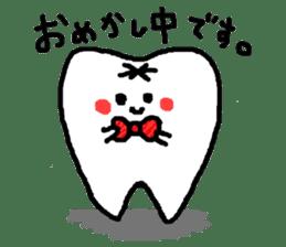Mr.Tooth! sticker #686081